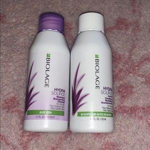biolage hydra source shampoo and conditioner